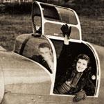 Стеклопластиковый колпак самолёта Уитни Стрэйт