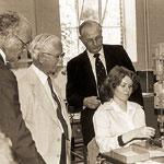 Эрнест Форд, Гарольд Ридли, Джон Грин (Управляющий Директор в 1980-х)