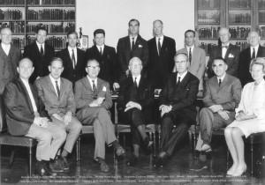 Заседание Интраокулярного клуба 1966г.